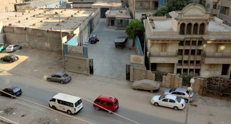 شقة للبيع واجهه علي محور مريوطيه والليني