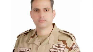 Photo of المتحدث العسكري: سقوط مقاتلة جوية جراء عطل مفاجئ ونجاة قائدها