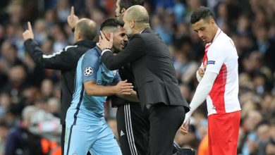 Photo of جوارديولا مُتغزلاً في مُهاجمه الأرجنتيني : أجويرو لاعب إستثنائي و «أسطورة»