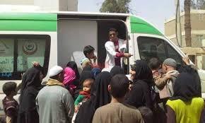Photo of تقديم العلاج مجانا لـ72 ألف مواطن خلال 15يوما بمبادرة حياة كريمة