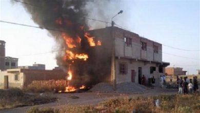 Photo of مصرع ربة منزل حرقا فى الجيزة
