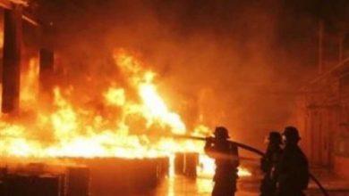 Photo of الحماية المدنية تدفع بـ6 سيارات إطفاء للسيطرة على حريق هائل بمصنع مكرونة بالمنوفية