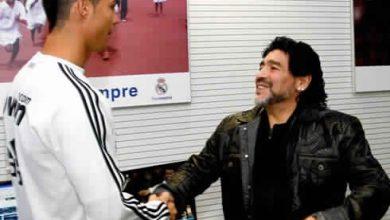 Photo of دييجو مارادونا :«رونالدو» ليس الأفضل بالتاريخ..وأمامه الكثير