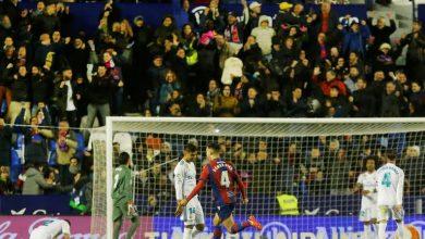 Photo of ريال مدريد يواصل ننتائجه السلبية في الدوري ويتعادل مع ليفانتي بهدفين لكل فريق