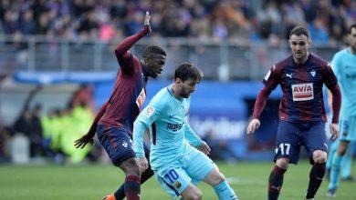 Photo of شاهد..هدف من «سواريز» بصناعة «ميسي»..برشلونة يتقدم على إيبار في الشوط الأول