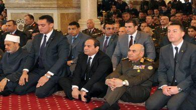 Photo of بث مباشر ..السيسي يؤدى صلاة الجمعة من مسجد المشير طنطاوى