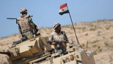 "Photo of بالفيديو.. القوات المسلحة تعلن القضاء على 13 عنصرا تكفيريا بـ""سيناء 2018″"