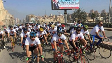 Photo of بالصور .. دعم مصر ينظم ماراثون دراجات في طنطا تأييدا للسيسي
