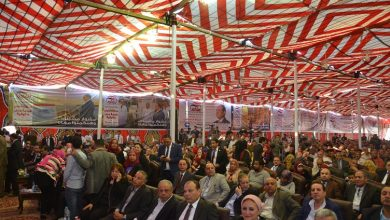 Photo of بالصور.. بحضور 8 آلاف مواطن.. مؤتمر حاشد لدعم السيسي فى العاشر