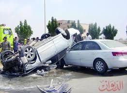 Photo of مصرع شخص وإصابة زوجته وطفليه في انقلاب سيارة