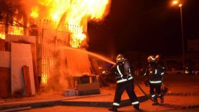 Photo of مصرع 2 من رجال الإطفاء بحريق في إحدى مكتبات كاليفورنيا