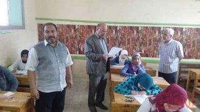 Photo of وكيل تعليم الغربية يتفقد لجان الشهادة الإعدادية بإدارة غرب طنطا