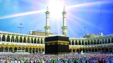 Photo of الشمس تتعامد على الكعبة المشرفة رابع أيام العيد