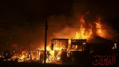 Photo of عاجل| اندلاع حريق بإحدى معارض الهواتف الذكية في أبوعلي