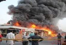 Photo of تفجير انتحارى يستهدف قوات الأمن الصومالية بالقرب من القصر الرئاسى بمقديشو