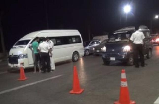 ضبط 46 سائق مسطول وتحرير 5 آلاف مخالفة في حملة مرورية كبرى