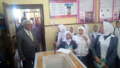 Photo of زيارة مفاجأة لمحافظ الدقهلية لمدرسة اعداية بالمطرية