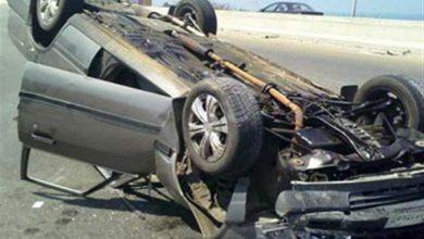 Photo of مصرع شخصين وإصابة 7 آخرين فى تصادم ثلاث سيارات ملاكى