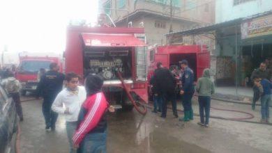 Photo of السيطرة على حريق محل داخل فى إمبابة دون إصابات