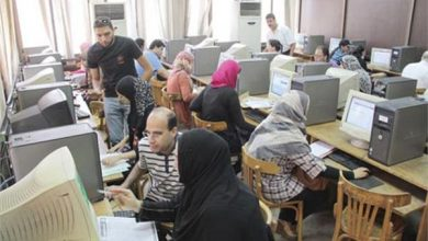 Photo of موقع التنسيق يستقبل لليوم الثانى تسجيل طلاب الثانوية لاختبارات القدرات