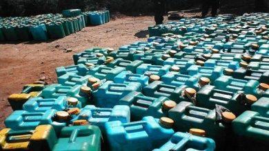Photo of ضبط 20 ألفا و500 لتر بنزين مدعم داخل أحد المخازن بطنطا