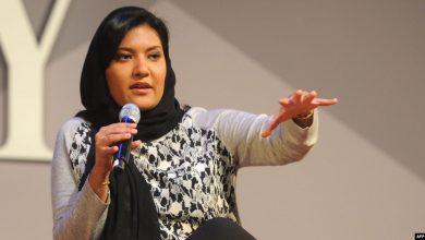 Photo of أول سفيرة للسعودية في واشنطن تقدم أوراق اعتمادها للرئيس الأمريكي