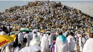 Photo of بث مباشر|ضيوف الرحمن على جبل عرفات لأداء الركن الأعظم من مناسك الحج