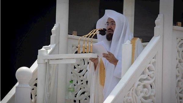 إمام المسجد الحرام يدعو المعلمين في بداية العام الدراسي الجديد إلى 5 أمور.. فيديو