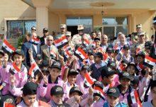 """Photo of """"الجيش الثانى"""" ينظم زيارات لطلبة المدارس إلى قطاع تأمين شمال سيناء"""