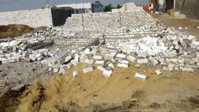 "Photo of إزالة 15 حالة تعد على الأراضي الزراعية بقرى مركز الواسطى""صور"""