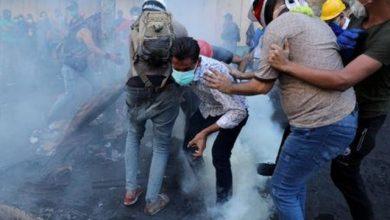 Photo of مقتل أربعة وإصابة العشرات في احتجاجات بغداد