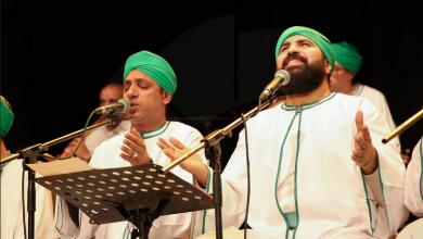 Photo of بالصور.. فريق الحضرة تحيي  حفلًا للإنشاد الدينى بحضور بساقية الصاوي