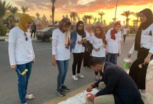 Photo of انطلاق مبادرة مهرجان الوان لتجميل شوارع وميادين شرم الشيخ .