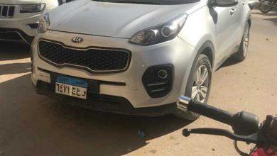 Photo of النيابة تعاين سيارة أمين تنظيم حزب حماة الوطن ببنى سويف بعد إطلاق الرصاص عليها