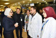 Photo of هالة زايد : إجراءات مشددة للتصدي لفيروس كورونا بالمطارات والموانى