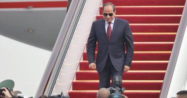 """Photo of الرئيس السيسي يبحث هاتفياً مع الرئيس الفرنسي تطورات القضية الليبية"""""""