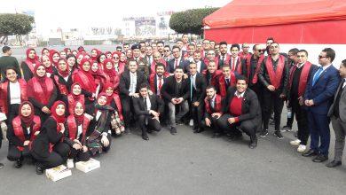 Photo of حضور وفد من جامعة عين شمس لـ حفلة التخرج للاعداد العسكري