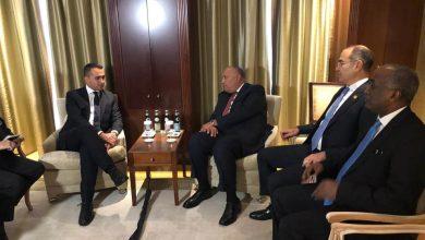 Photo of شكري يلتقي نظيره الإيطالي على هامش فعاليات قمة مؤتمر برلين حول ليبيا