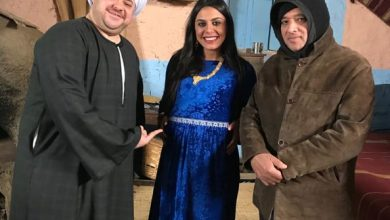 "Photo of بالصور.. مدحت تيخا يتخلى عن الكوميديا في ""بنت القبائل"""