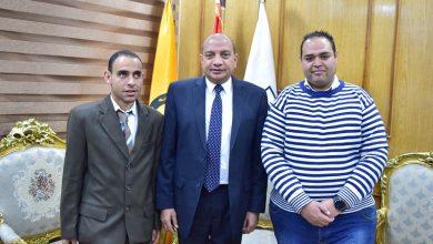 Photo of رئيس جامعة بني سويف يلتقي بالمعينين الجدد من متحدي الإعاقة
