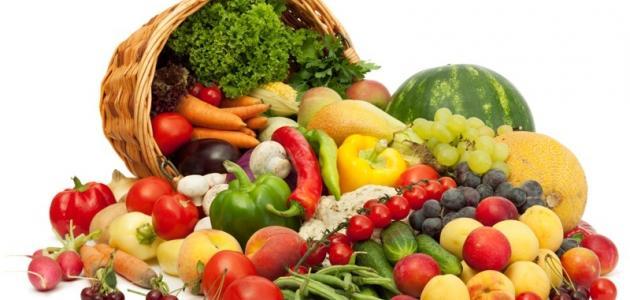 خضراوات و فاكهة