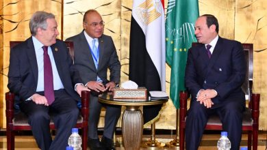 Photo of الرئيس السيسى يلتقى سكرتير الأمم المتحدة..وجوتيريش يشيد بمكانة مصر