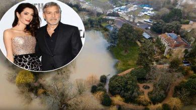 """Photo of إعصار """"دينيس"""" يغرق قصر ممثل شهير بالمياه"""