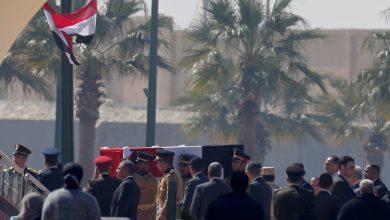 Photo of أول صور لجنازة الرئيس الأسبق محمد حسني مبارك
