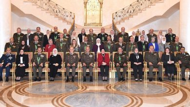 Photo of وزير الدفاع والإنتاج الحربى يكرم قادة القوات المسلحة المحالين للتقاعد