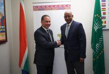 Photo of سفير مصر لدى جنوب أفريقيا يلتقي بالمدير التنفيذي لوكالة الاتحاد الأفريقي للتنمية (نيباد).