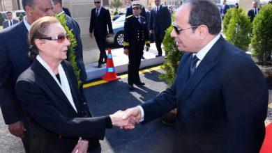 """Photo of صور…السيسي يتقدم الجنازة العسكرية للرئيس الأسبق حسني مبارك"""""""