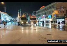 Photo of فيديو.. ايران تعقم الأضرحة والشوارع لمواجهة كورونا بعد وفاة 34 واصابة 388
