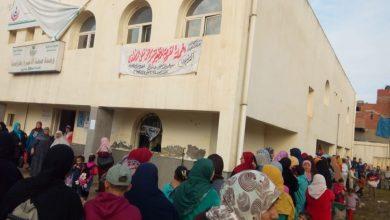 Photo of وقع الكشف على 2000 مريض خلال قافلة طبية بقرية طرابمبا بدمنهور