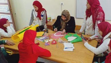 Photo of ورش فنية وأشغال يدوية للطلاب من الصم وضعاف السمع بقصر ثقافة الطفل بدمنهور